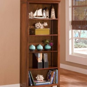 Fiji Office bookcase coastal casual
