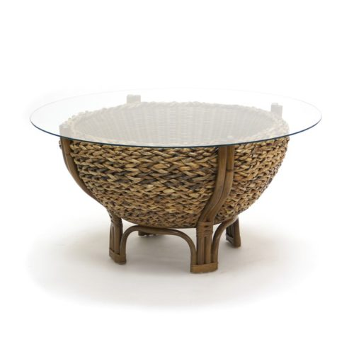 Maui casual woven coffee table