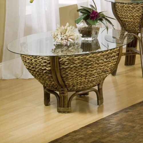 Casual Woven Coffee Table Maui Collection By Sea Winds