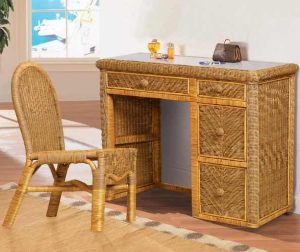 B57974anthon Desk And Chair Set Sea Winds Trading Co
