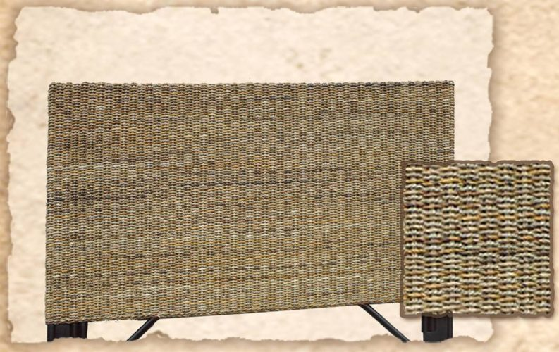 Waikiki Headboard Woven Casual Tropical
