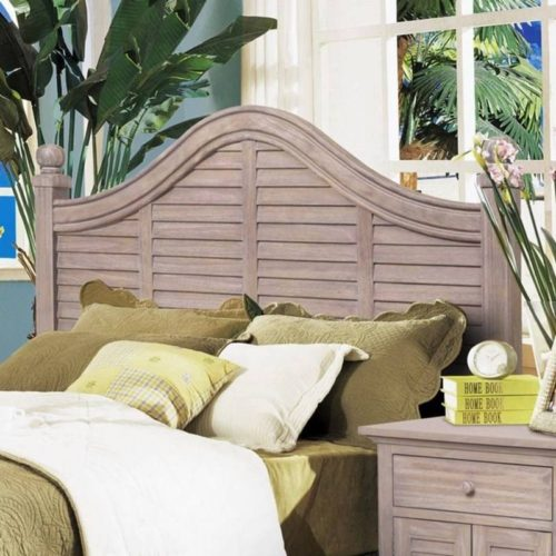 Tortuga headboard shutter distressed driftwood costal Casual
