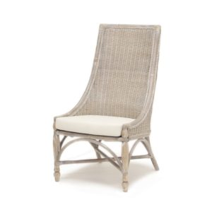 Tortuga occasional chair living room wood distressed tropical casual
