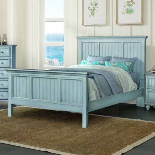 Monaco-Blue-Coastal-casual-distressed-complete-bed