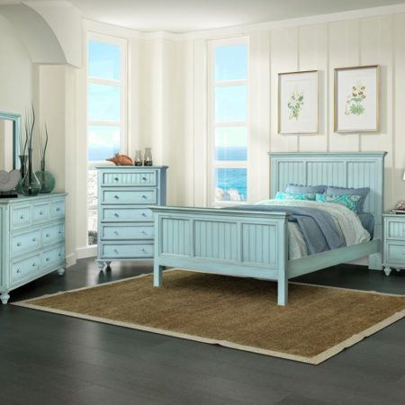 monaco distressed blue bedroom furniture sea winds trading