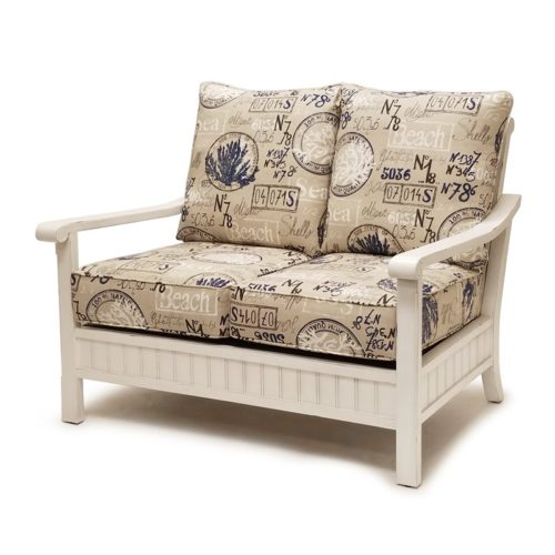 Monaco-distressed-white-casual-love-seat