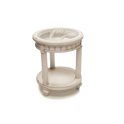 monaco-distressed-white-casual-round-end-table