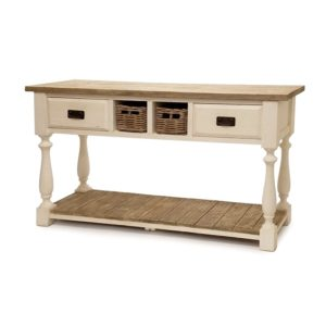 white-natural-rustic-reclaimed-wood-console-table