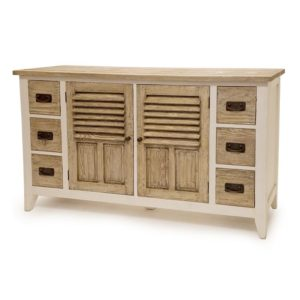 white-natural-rustic-reclaimed-wood-server-buffet-sideboard