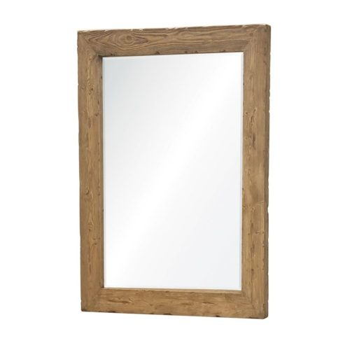 natural-finish-reclaimed-wood-beveled-mirror