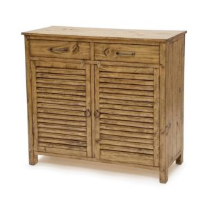 olde-world-pine-rustic-wood-shutter-entry-cabinet