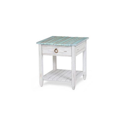 Picket-Fence-coastal-distressed-blue-end-table