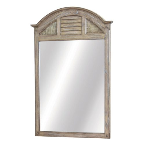 Key-West-WP-Distressed-brown-Mirror-with-shutter-and-wicker-bedroom-furniture