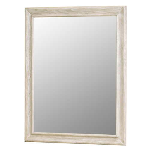 Tortuga-II-casual-coastal-Mirror-in-distressed-natural-Sand-Beach-Finish.