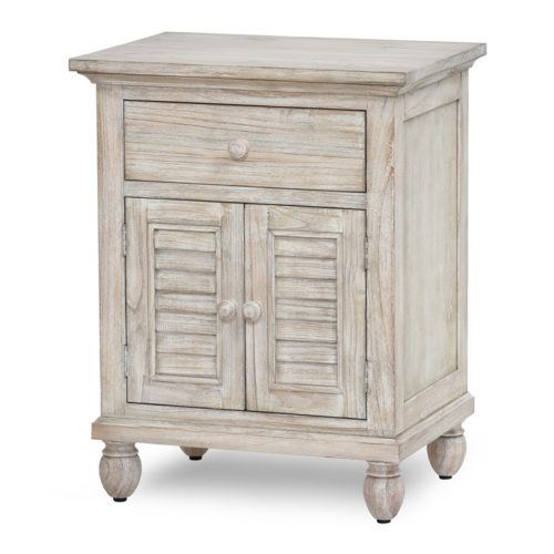 Tortuga-II-coastal-Nightstand-in-distressed-natural-Sand-Beach-Finish