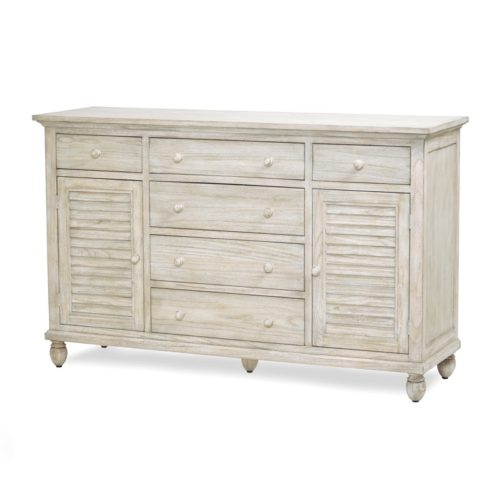 Tortuga-II-tropical-Dresser-in-distressed-natural-Sand-Beach-Finish.