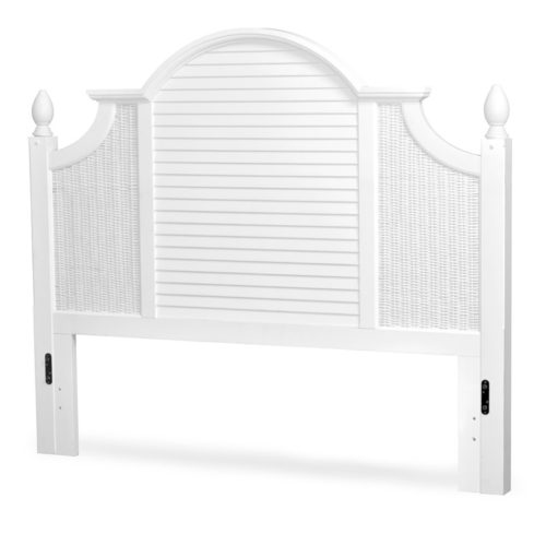 Key-West-Headboard-shutter-white-wicker-tropical-casual