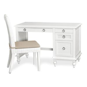 Key-West-white-desk-chair-shutter-tropical-casual
