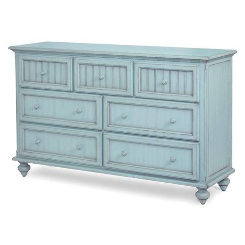 Monaco-Bleu-Coastal-casual-distressed-dresser-with-grey-shadow