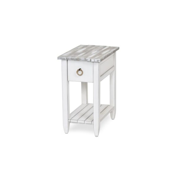 Picket-Fence-casual-distressed-grey-chairside-table