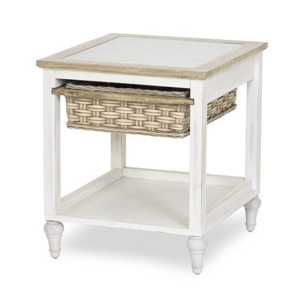 Island-Breeze-woven-basket-end-table-weathered-white-finish