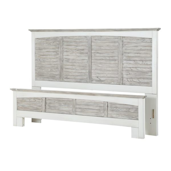 Islamorada-casual-two-tone-distressed-white-and-grey-complete-Bed