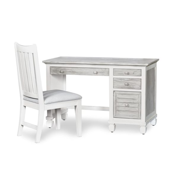 Islamorada-casual-two-tone-distressed-white-and-grey-computer-bedroom-desk