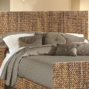 Maui Headboard Woven Casual Tropical