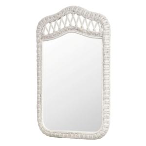 Santa-Cruz-mirror-Wicker-Tropical-white-finish
