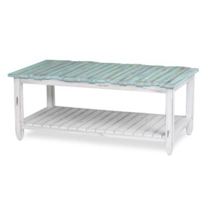 Picket-Fence-distressed-coastal-blue-coffee-table