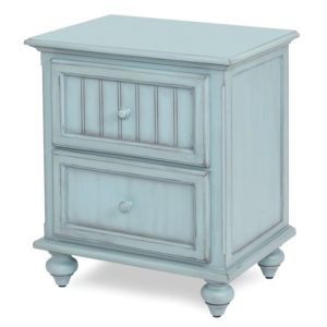 Monaco-Bleu-Coastal-casual-distressed-with-grey-shade-vintage-nightstand