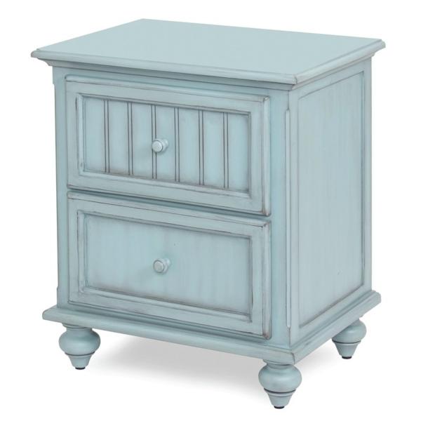 Monaco-Bleu-Coastal-casual-distressed-with-grey-shade-vintage-nightstand