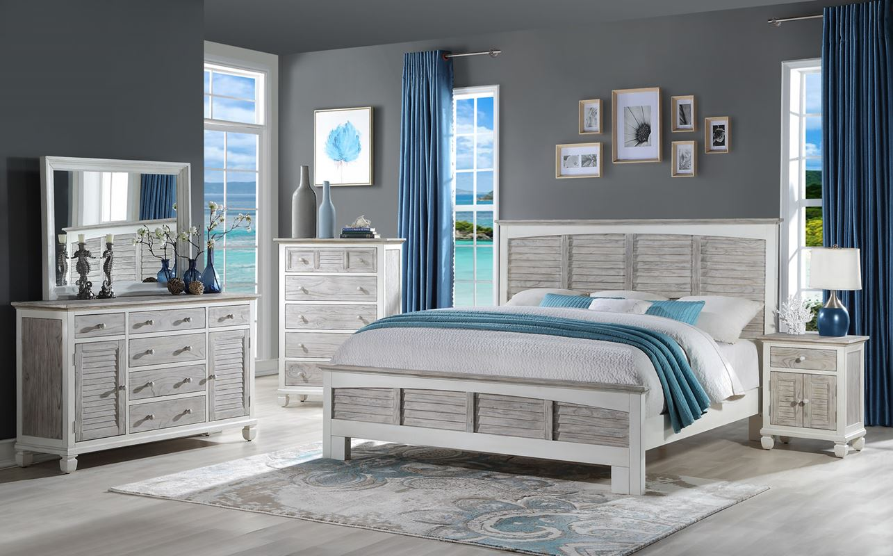 Islamorada-bedroom-collection-in-two-tone-grey-and-white