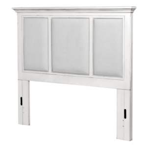 Monaco-upholstered-casual-coastal-white-headboard-and-gray-fabric