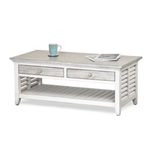 Islamorada Coffee Table-is-a-Casual-Coastal-Distressed-coffee-table-with-an-island-feel