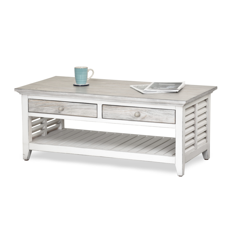 Islamorada Coffee Table Sea Winds Trading Co Your Best Source For Casual Indoor Furniture