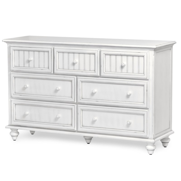 Monaco-casual-distressed-white-dresser-for-a-coastal-white-bedroom-decor