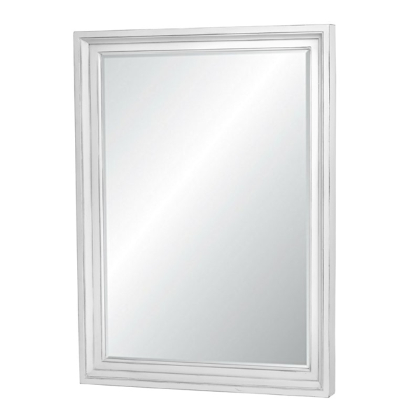 Monaco-distressed-white-beveled-mirror-for-a-casual-decor