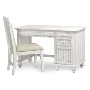 Monaco-distressed-white-wood-desk-and-chair-for-bedroom-home-office