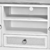 Captiva-Island-casual-distressed-entertainment-center-with-gray-fabric-cable-access-center-tstorage