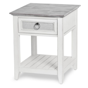 Captiva-Island-coastal-distressed-end-table-with-gray-fabric-rope-pulls