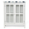 Nantucket-Coastal-Nautical-decor-occasional-cabinet-navy-blue-white-and-glass-door