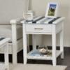 Nantucket-Coastal-Nautical-living-room-end-table-navy-blue-white