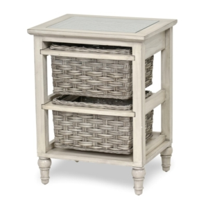 Island-Breeze-woven-2-basket-storage-casual-gray-distressed-white-finish