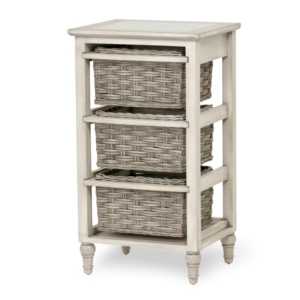 Island-Breeze-woven-3-basket-storage-casual-gray-distressed-white-finish