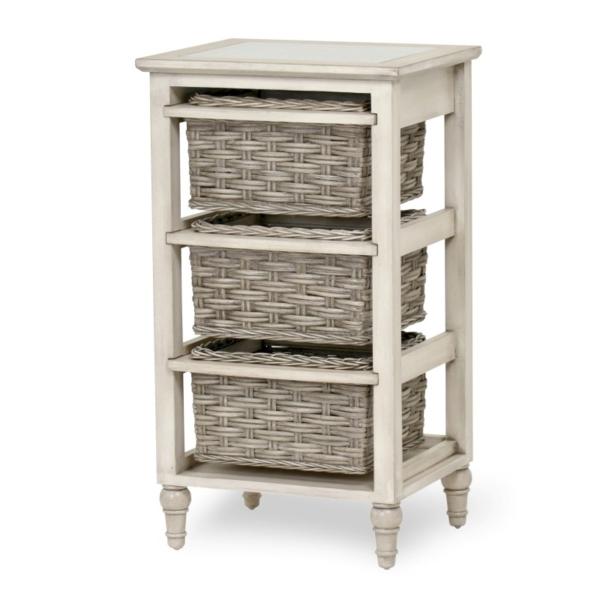 Island-Breeze-woven-3-basket-storage-casual-gray-distressed-white-finish